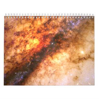 Nucleus of Galaxy Centaurus A Wall Calendar