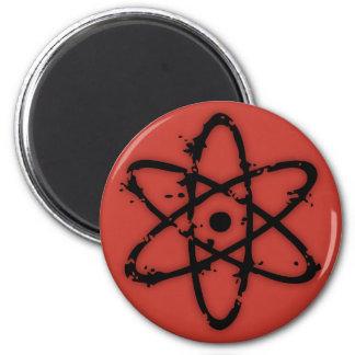Nucular Atomics! 2 Inch Round Magnet
