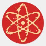 Nucular Atomics! Classic Round Sticker
