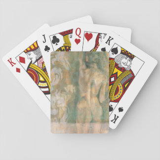 Nude Female Figure by Jennifer Goldberger Playing Cards