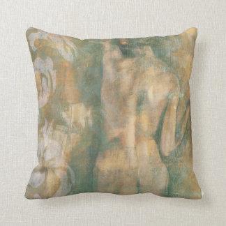 Nude Female Figure by Jennifer Goldberger Throw Pillow