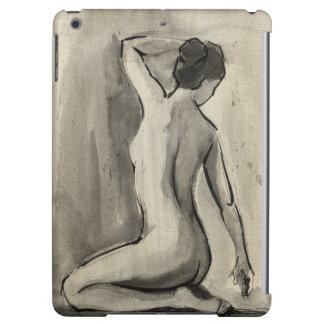 Nude Sketch of Female Body by Ethan Harper iPad Air Cases