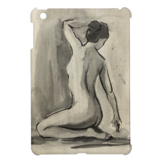 Nude Sketch of Female Body by Ethan Harper iPad Mini Cases