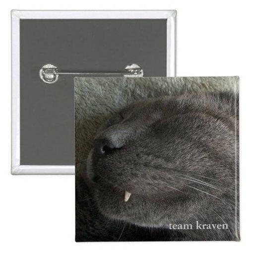 NudeWare - botón de Kraven del equipo Pins