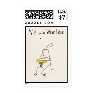Nudgies WYWH Postage Stamp