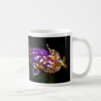Nudibranch Laying Egg Sea Squirt Polycarpa Aurata Classic White Coffee Mug