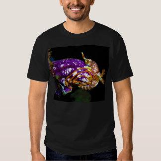 Nudibranch Laying Egg Sea Squirt Polycarpa Aurata Tee Shirt