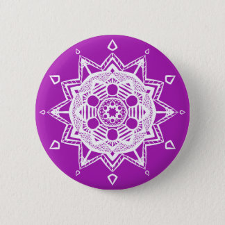 Nudibranch Mandala Button