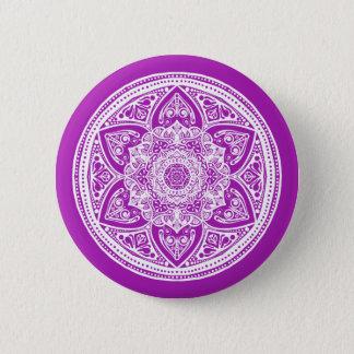 Nudibranch Mandala Pinback Button