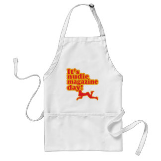 Nudie Magazine Day! Adult Apron