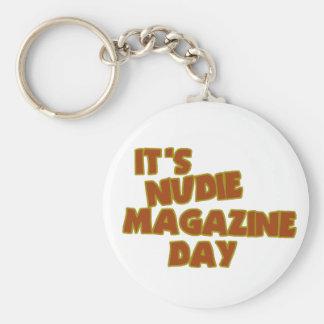 Nudie Magazine Day Keychain