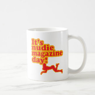 Nudie Magazine Day Coffee Mugs