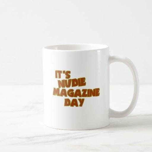 Nudie Magazine Day Mugs