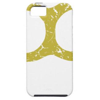 Nudillos de cobre amarillo iPhone 5 funda