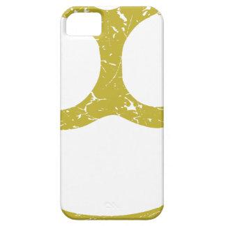 Nudillos de cobre amarillo iPhone 5 carcasas