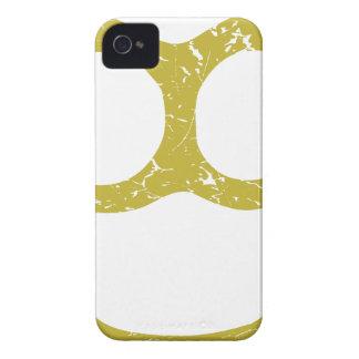 Nudillos de cobre amarillo iPhone 4 Case-Mate cárcasas