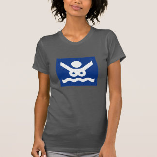 Nudist beach Sign (2), Norway Tee Shirt