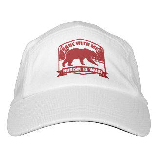 Nudist Headsweats Hat