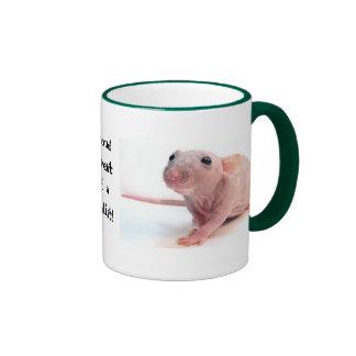 Nudist Rat Ringer Mug