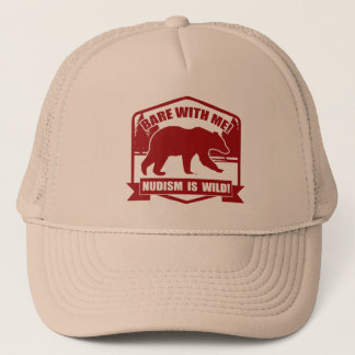Nudist Trucker Hat