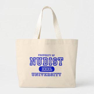 Nudist University Bag