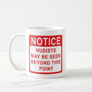 Nudists Coffee Mug