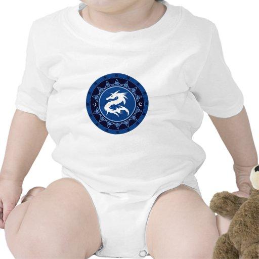 Nudo 1 del dragón traje de bebé
