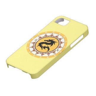 Nudo 2 del dragón iPhone 5 fundas