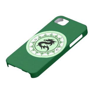 Nudo 5 del dragón iPhone 5 carcasa