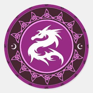 Nudo 9 del dragón etiquetas