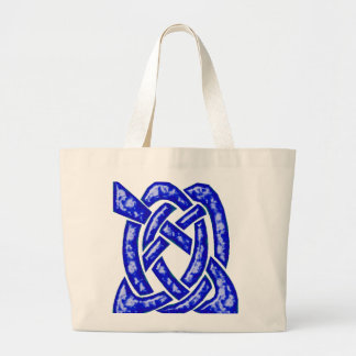 Nudo céltico 6 azul marino bolsas