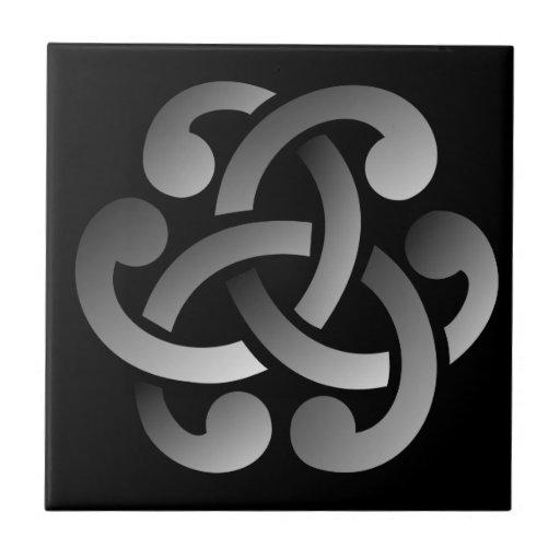 Nudo céltico azulejos