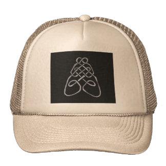 Nudo céltico de la abeja gorras