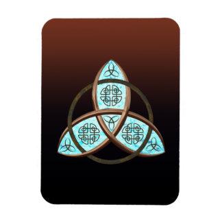 Nudo céltico de la trinidad imanes flexibles