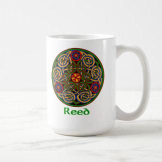 Nudo céltico de lámina taza de café