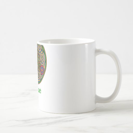 Nudo céltico de piedra taza