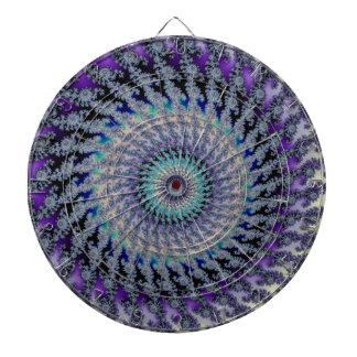 Nudo céltico del platino en fractal en colores