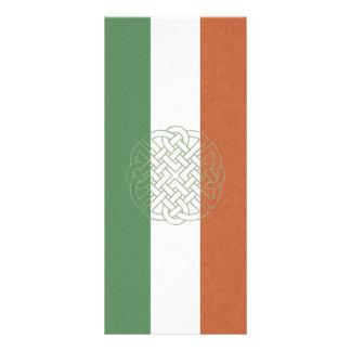 Nudo céltico irlandés plantilla de lona