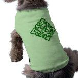 Nudo céltico - ropa del mascota del diamante ropa perro