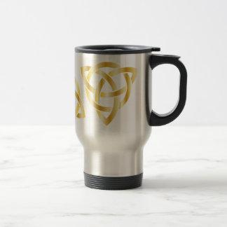 Nudo céltico taza de viaje