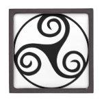 Nudo de Triquetra del Celtic Cajas De Joyas De Calidad