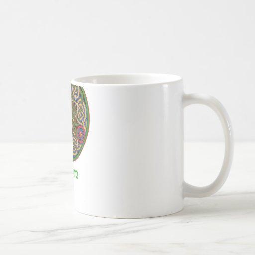 Nudo del Celtic de Dunn Taza De Café