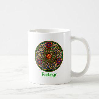 Nudo del Celtic de Foley Taza Clásica