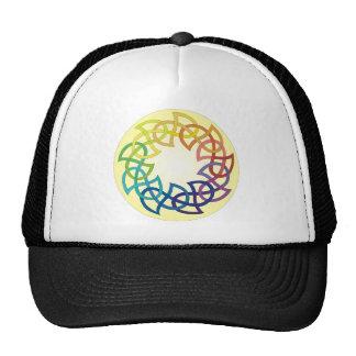 Nudo del Celtic del arco iris Gorra