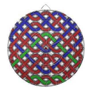Nudos célticos del azul, verdes y rojos
