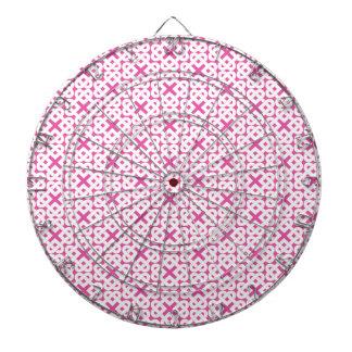 Nudos de amor célticos blancos en rosa