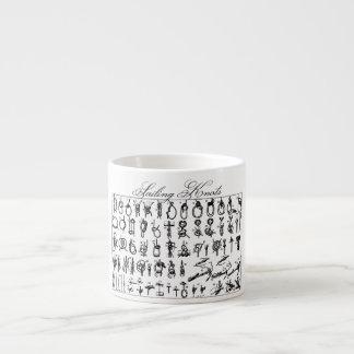 Nudos de la navegación taza espresso