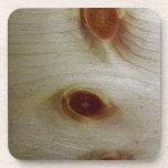 Nudos de madera posavaso