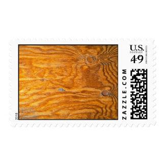 Nudos en un tablón sello