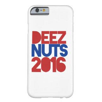 NUECES 2016 DE DEEZ FUNDA PARA iPhone 6 BARELY THERE